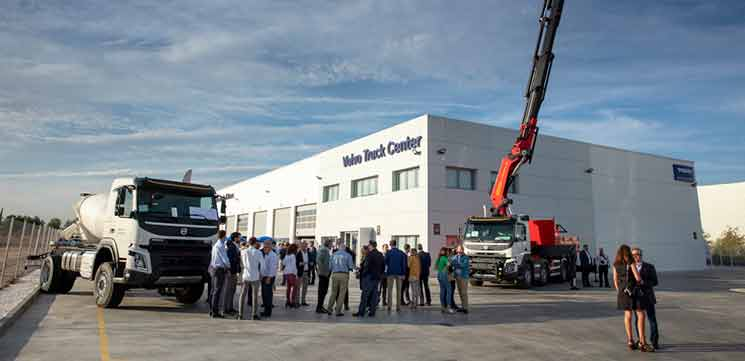 volvo trucks center torrejon