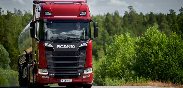 scania camion